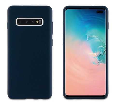 muvit carcasa Samsung Galaxy S10 Plus Liquid Edition Midnight blue