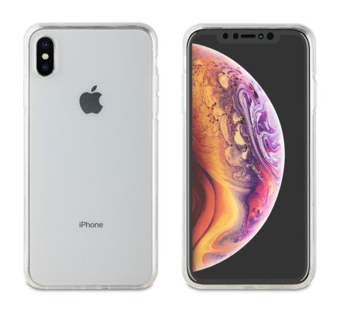 muvit funda Cristal Soft 360 Apple iPhone XS Max transparente
