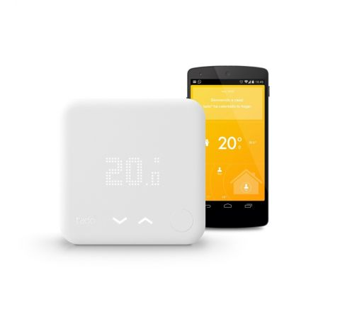 Tado kit inicio termostato inteligente y bridge para internet V2