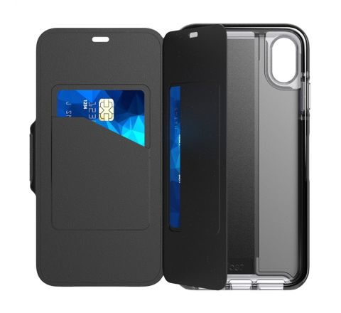 Tech21 funda Evo Wallet Apple iPhone Xs Max negra