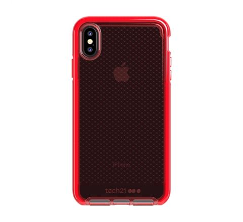 Tech21 carcasa Evo Check Apple iPhone Xs Max roja