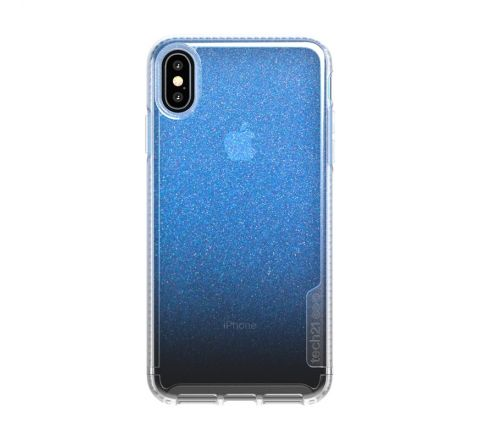Tech21 carcasa Pure Shimmer Apple iPhone Xs Max azul