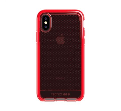 Tech21 carcasa Evo Check Apple iPhone Xs/X roja
