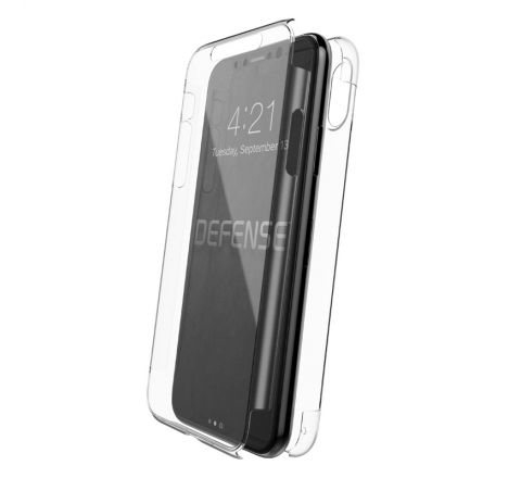 Xdoria carcasa Defense 360 Apple iPhone Xs/X transparente
