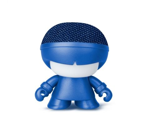 Xoopar Xboy Mini Altavoz bluetooth 3W color azul metalizado con luz LED
